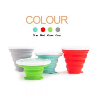 Collapsible travel cup by Hokone | collapsible cup costa | pokito collapsible coffee cup | best reusable coffee cup leakproof