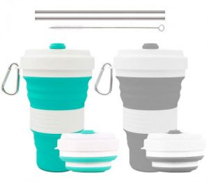 Crenics collapsible travel cup by Infree | collapsible cup target | collapsible cup walmart | collapsible cup hiking