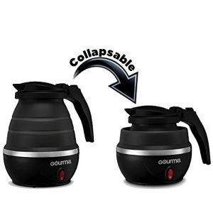 Portable electric travel kettle