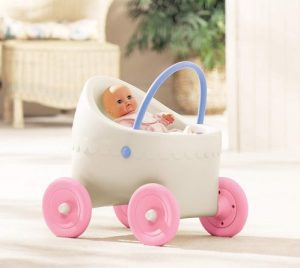 Little Tikes classic doll buggy | baby doll stroller for 1 year old