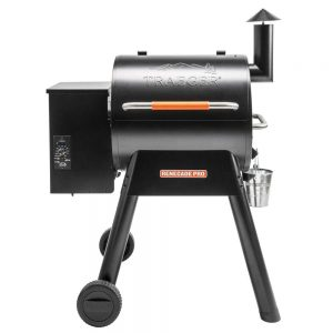 traeger smoker grill combo with rolling