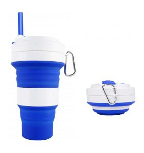 Ufamony collapsible silicone cup | collapsible cup hiking