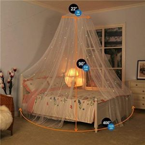 canopy bed frame curtain