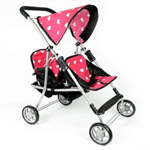 The New York Doll Collection first doll twin stroller | baby doll stroller for 1 year old
