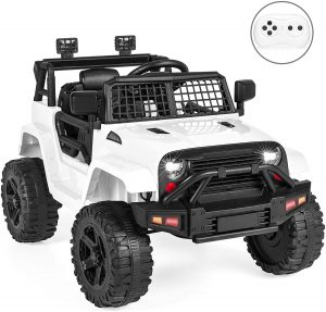 Best Choice Products 12V Kids Ride On Truck Car with Parent Remote Control