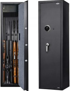 space saving gun safe