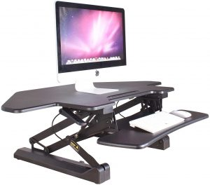 Zealdesk Corner Pro Computer Adjustable Desk