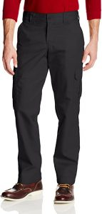 Dickies Men's Slim-Straight Stretch-Twill Cargo Slim fit tactical Pants for daily use