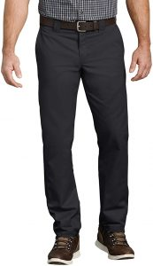 Dickies Men's Slim Taper Stretch Twill Work Pants for everyday use