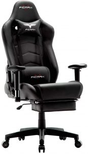 High Back Racing Gaming Chair with Footrest Massage Computer Gaming Chair