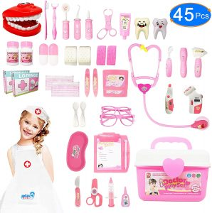 Pink doctor kit for girls