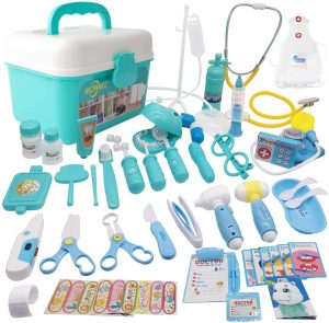 48Pcs Pretend Play Doctor Kit for girls and boys