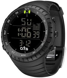 PALADA Men's Digital Sports Watch Waterproof | Tactical Watch with LED Backlight Watch for Men