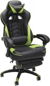 heated massage gaming chair