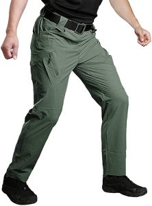 Susclude Men's Outdoor Work Quick Dry Military Tactical Pants