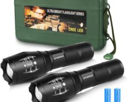TOP 10 BEST RECHARGEABLE FLASHLIGHTS in 2021