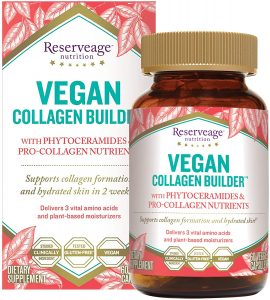 vegan collagen booster and builder