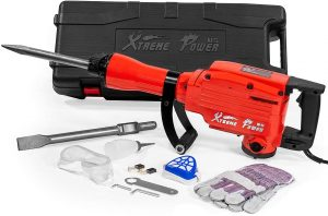 Heavy Duty Electric Demolition Jack hammer Red