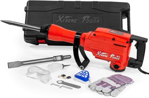 XtremepowerUS 2200Watt Heavy Duty Electric Demolition Jack hammer
