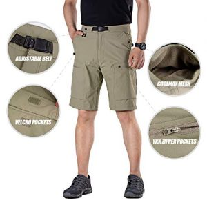 Hiking Cargo Shorts Nylon Spandex