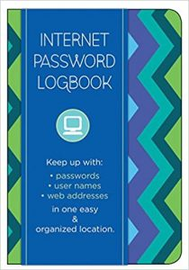 Pattern Edition: Keep track of: usernames, passwords, web addresses in one easy & organized location notebook