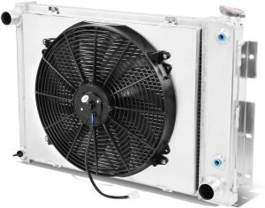 home radiator with fan