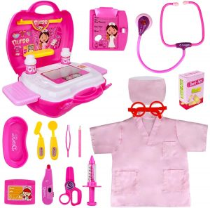 Doctor Play Set for Girl Toddlers