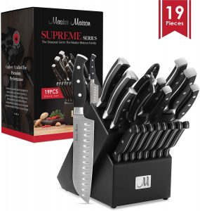 best knife block set under 100