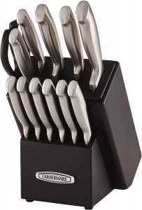 Farberware Self-Sharpening Knife set under 100