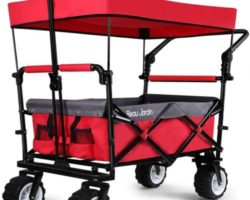 Editor's Pick: Top 10 Best Collapsible Wagons With Canopy in 2021