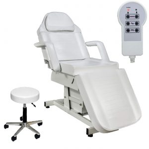 electric massage table with storage