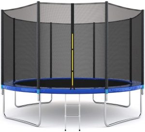Combo Bounce Jump Trampoline for Kids and Adults