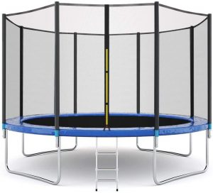 Outdoor Trampoline for Family School Entertainment
