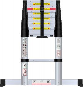 Telescopic Extension Ladder 330 Pounds Capacity