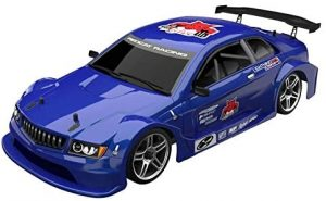 Metallic Blue Remote control racing car