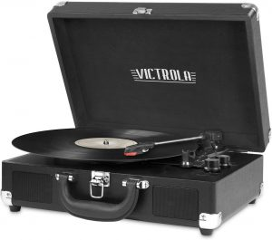 Upgraded Turntable Audio Sound Record Player