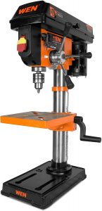 Drill Press Table with Laser