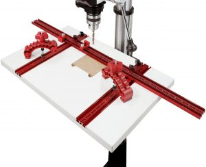 Drill Press Table with 2 Knuckle Clamps