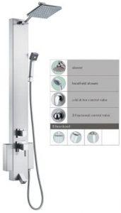 Stainless Steel showering panel
